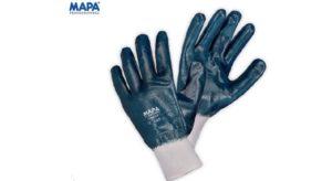 Par guante nitrilo puno tejido bano completo MAPA 392