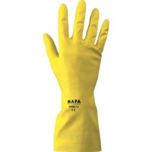 Par de guante latex domestico. MAPA VITAL 124