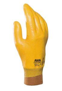 Par guante nitrilo amarillo DEXILITE383 completo p.elastizado